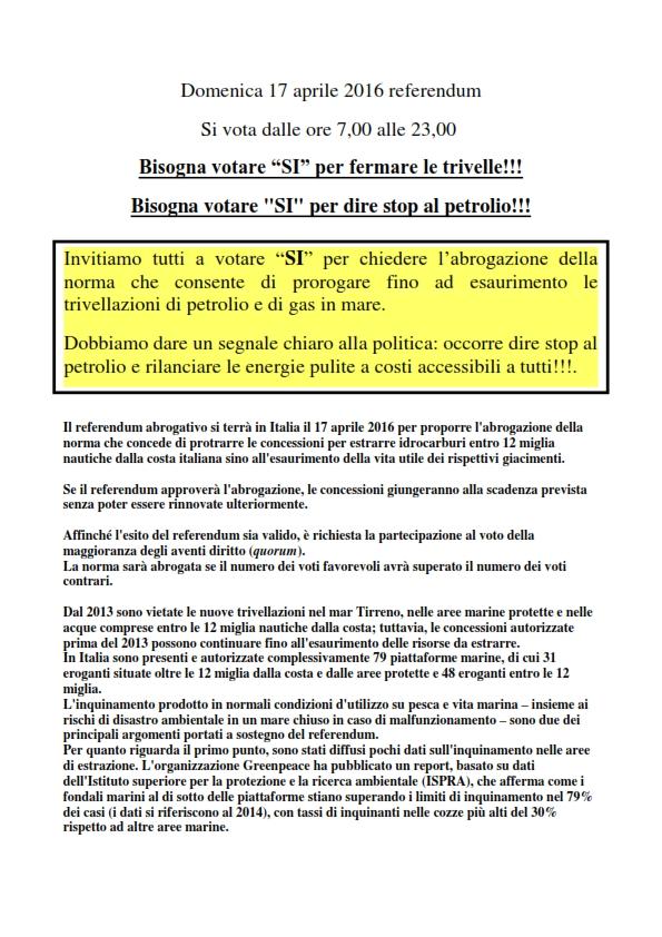 pag.1 Domenica 17 aprile 2016 referendum_x sito_01_001